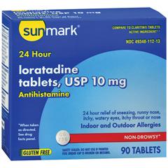 MON17852700 - McKessonAllergy Relief 10 mg Strength Tablet, 90/EA