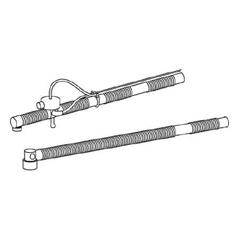 MON17973900 - CarefusionPortable Ventilator Circuit 5 Foot Adult