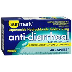 MON18062700 - McKessonAnti Diarrheal sunmark® Caplets, 48/CT