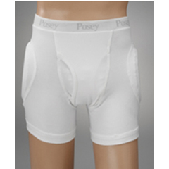MON18063000 - PoseyHip Protection Brief Hipsters® Male Fly 2 X-Large