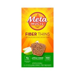 MON18082700 - Procter & GambleFiber Supplement Metamucil® Wafer 24 per Box Apple Crisp, 24/BX