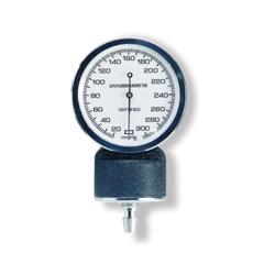 MON18092500 - McKessonBlood Pressure Unit Gauge entrust® Performance Black Body, White Face with Black Numbers Standard Aneroid Sphygmomanometers (01-775 Series)