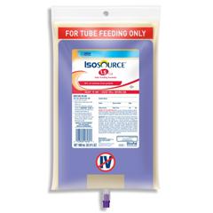MON18182600 - Nestle Healthcare NutritionTube Feeding Formula ISOSOURCE® 1.5 CAL Unflavored 1000 mL, 6EA/CS