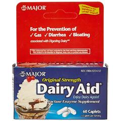 MON18222700 - Major PharmaceuticalsLactase Supplement 3000, Caplets, 60EA per Bottle