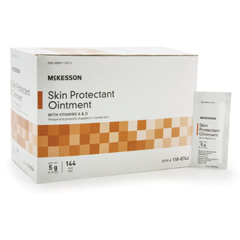 MON18441400 - McKesson - Skin Protectant Ointment, 5 Gram Individual Packet, Unscented