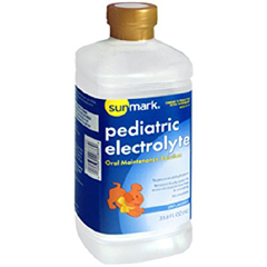 MON18472600 - McKessonPediatric Oral Electrolyte Solution Pediatric Unflavored 33.8 oz. Bottle Ready to Use