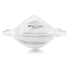 MON18551108 - 3MParticulate Respirator / Surgical Mask VFlex Flatfold Headstrap (1805S)