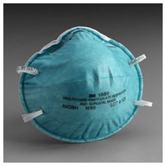 MON18601100 - 3MHealth Care Particulate Respirator and Surgical Mask