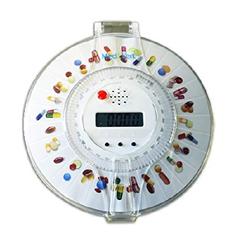 MON18612701 - MedEDispenser - MEDELERT™ Automatic Pill Dispenser with Lock For Seniors