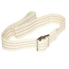 MON70407700 - Maddak - 54 Gait Belt, Red/White/Blue Stripe