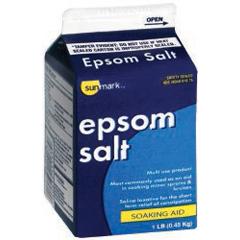 MON18752700 - McKessonEpsom Salt sunmark 16 oz. Granules