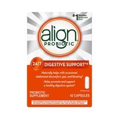 MON19122700 - Procter & GambleProbiotic Dietary Supplement Align® Capsules, 42EA per Bottle