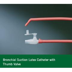MON19124000 - Bard MedicalSuction Catheter Open 10-12 Fr. Thumb Valve