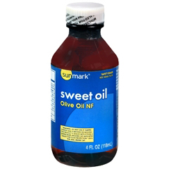 MON19302700 - HumcoSweet Oil sunmark 4 oz. Liquid Olive Oil