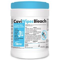 MON19314100 - Metrex ResearchCaviWipes® Bleach Wipes (13-9100), 12/CS