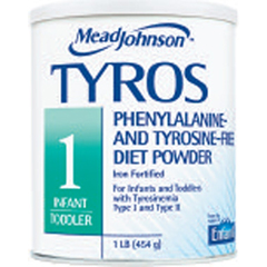 MON19412601 - Mead Johnson NutritionTYROS™ 1 500 Calories per 100 Grams of Powder Vanilla 16 oz.