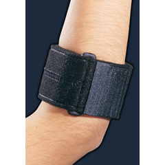 MON19443000 - DJOElbow Support Strap Universal, Upto 17.5 Inch Forearm Hook and Loop Closure Tennis