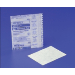 MON19612000 - Medtronic - Non-Adherent Dressing Yield™ Rayon, Polyester 3 X 2, 100EA/BX