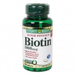 MON19612700 - US NutritionBiotin Natures Bounty 5000 mcg Softgel 60 per Bottle