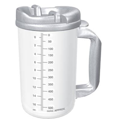 MON20202900 - WhirleyThermo Mug 20 oz. Hot Clear, Granite, 50EA/CS