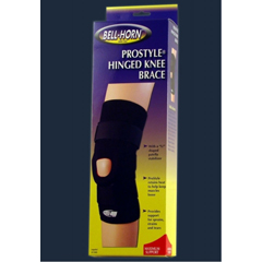 MON20253000 - DJOKnee Support ProStyle® Large Pull-On, Hook and Loop Straps 15 to 17 Inch Circumference Left or Right Knee