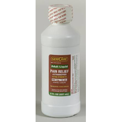MON20282704 - McKessonPain Relief 500 mg Strength Liquid 8 oz.