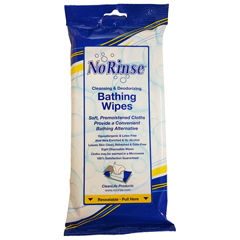 MON20641800 - Clean Life ProductsPersonal Wipe No Rinse Soft Pack Benzalkonium Chloride 8 per Pack