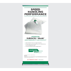 MON20812010 - J & J Healthcare Systems - Absorbable Hemostat Surgicel® Snow, 1 x 2, 10/CS