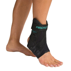 MON20943000 - DJOAnkle Support AirSport Medium Hook and Loop Closure Right Ankle