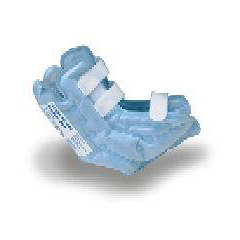 MON21113000 - StrykerHeel Protector Boot Sof-Care® HeelCare® One Size Fits Most Light Blue