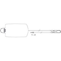MON529354CS - Zevex - EnteraLite® Infinity® Enteral Feeding Pump Bag Set (INF1200-A), 30 EA/CS