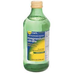 MON21162700 - McKessonMagnesium Citrate sunmark® Liquid 10 oz.