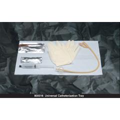 MON21181910 - Bard MedicalIndwelling Catheter Tray Bardia Foley 18 Fr. 5 cc Balloon Silicone Coated Latex