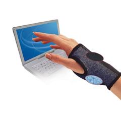 MON21281300 - Brown MedicalComputer Glove IMAK RSI Fingerless One Size Fits Most Wrist Length Ambidextrous Cotton