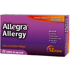 MON21402700 - ChattemAllegra® Allergy Relief (2140713), 12 EA/BX