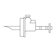 MON21502800 - B. BraunIrrigation Container Spike Adapter Pic , 50 EA/CS