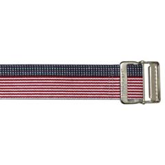 MON21523000 - Skil-CareGait Belt 60 Inch Stars and Stripes Strong Cotton