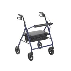 MON21613801 - McKesson4 Wheel Rollator (146-10216BL-1)