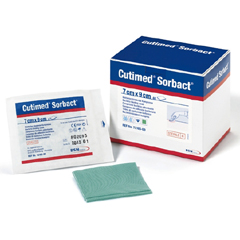 MON681960BX - BSN Medical - Cutimed® Sorbact® Wound Dressing Swab