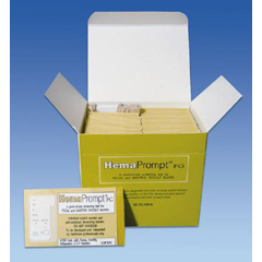 MON21672400 - Cardinal HealthTest Kit HemaPrompt™ FG Fecal and Gastric Occult Blood 50 Tests, 50EA/BX