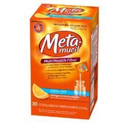 MON21992700 - Procter & GambleFiber Supplement Metamucil Orange Powder 30 per Box 3.4 Gram Strength Psyllium Husk (1151638)