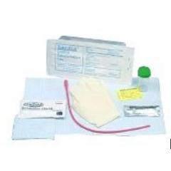 MON22141920 - Bard MedicalIntermittent Catheter Tray Bardia Round Hollow Tip 14 Fr. Vinyl