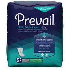 MON22183101 - First QualityPrevail® Male Guard - Jumbo Pack, 52 EA/PK