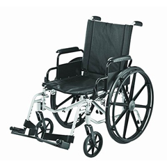 MON22254200 - Merits Health - Sequoia Ultra Strength Lightweight 20 Wheelchair, Dual Axles (L222-WMDIMU)
