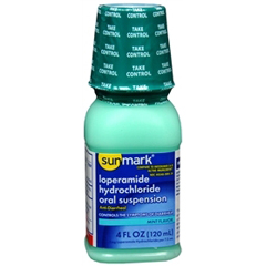 MON22302700 - McKessonAnti Diarrheal sunmark® Oral Suspension 4 oz.