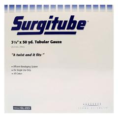 MON22332000 - Derma SciencesTubular Bandage Surgitube® Adult Leg, Thigh, Head Cotton, Gauze 3 5/8 Inch X 50 Yard Size 5