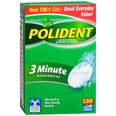 MON22361700 - Glaxo Smith KlineDenture Cleaner Polident® Tablet