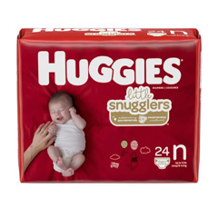 MON22383100 - Kimberly Clark ProfessionalHuggies® Maximum Absorbency, Size N, Up to 10 lbs., 288/CS