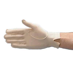 MON22473000 - Patterson MedicalCompression Glove Full Finger Small Over-the-Wrist Right Hand Lycra / Spandex