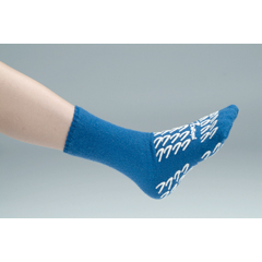 MON22521001 - DeRoyal - Slipper Socks Royal Blue Above the Ankle, 2 EA/PR